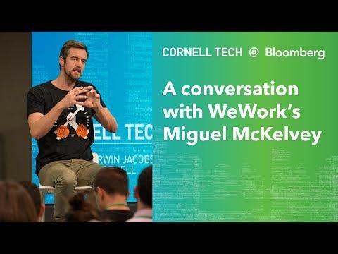 Bloomberg Cornell Tech Series: A Conversation w/ WeWork's Miguel McKelvey (teaser)
