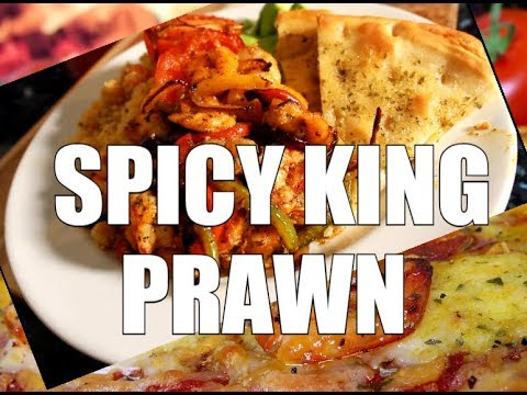 Best Spicy King Prawns With Couscous New Recipe Chef Ricardo Cooking