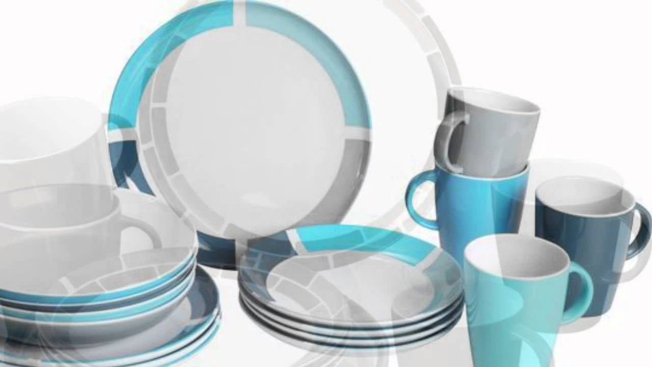 Melamine Dinnerware for Caravan & Camping - YouTube