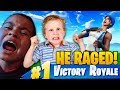 Download LITTLE KID SQUEAKER AND THE SQUAD *TROLL* MY 10 YEAR OLD BROTHER! (HE RAGED!) FORTNITE BATTLE ROYALE