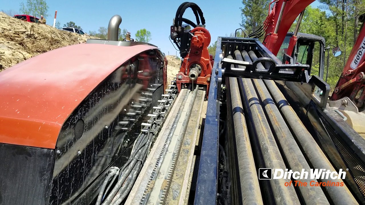 Ditch Witch JT40 Horizontal Directional Drill