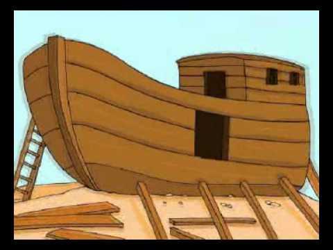 قصة نوح كرتون