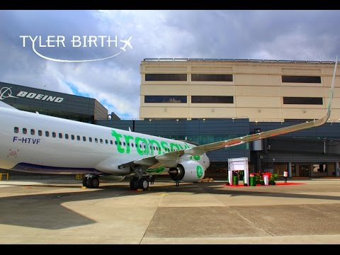 TRIP REPORT | TRANSAVIA | DELIVERY FLIGHT | BOEING 737-800 | BOEING FIELD (BFI) - PARIS (ORY)