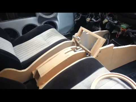 Pre-build for center console(LIVEcustoms) - YouTube