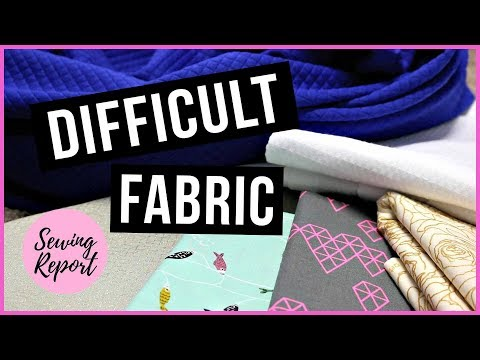 LIVE 🔴 Sewing with Difficult, Tricky, Lightweight Fabric | Craftsy Unlimited | SEWING REPORT