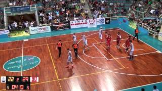 College Basketball Tour Pesaro 2014: Boston University - Adriatic Sea Tritons (video intergrale)