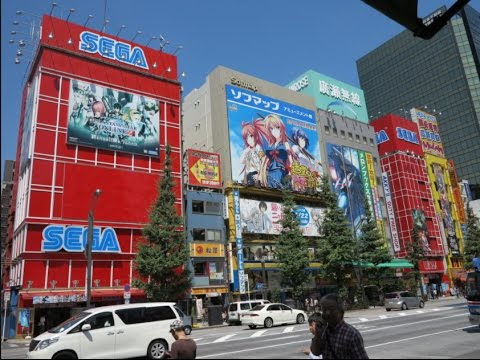 SEGA Arcade Tour - Akihabara + Pokémon !  - Tokyo, Japan.