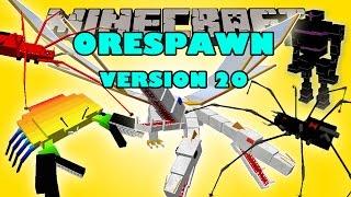 ORESPAWN MOD UPDATE v20 - The king, Giant robot spider, Crabs - MINECRAFT MOD Review 1.6.4 Español