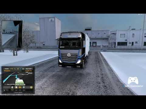 Mozzarella Delivery Milano - Liege Euro Truck Simulator 2