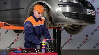 Montaje Cilindro de freno delantero y trasero VW TOURAN: vídeo manual
