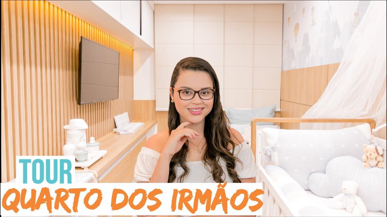 TOUR - QUARTO COMPARTILHADO dos IRMÃOS - Mariana Cabral