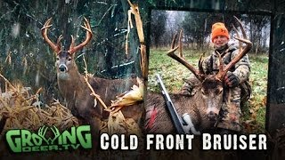 Deer Hunting Indiana: Big Buck Killed With A Muzzleloader!
