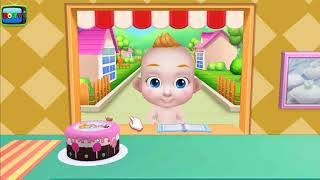 Game trẻ em vui nhộn | Trò chơi làm bánh dành cho trẻ em | BO TV