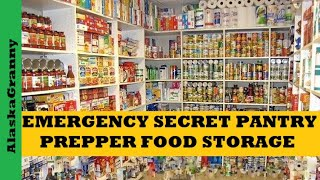 Secret Prepper Pantry Ideas Ways to Stockpile Food Supplies