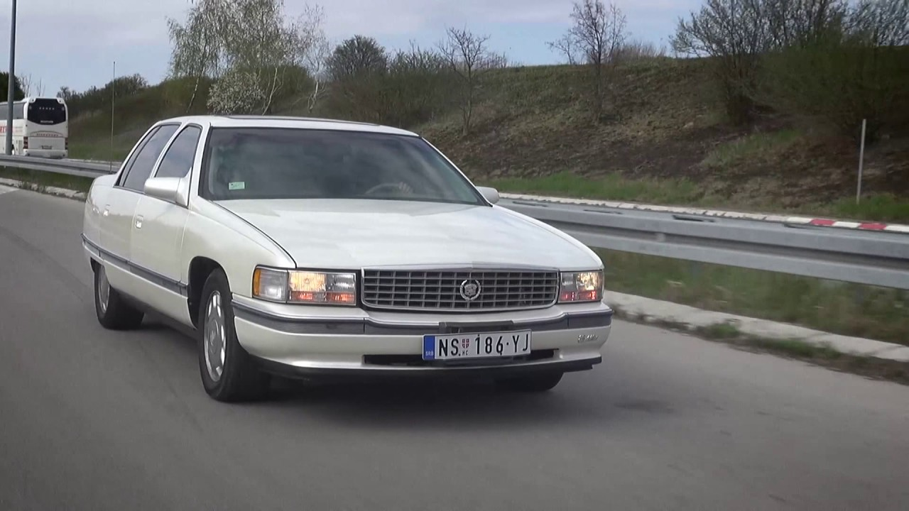 Cadillac DeVille Concours 1995 - YouTube