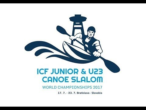 #ICFSlalom 2017 Junior & U23 Canoe World Championships, Bratislava, Saturday morning semis evens