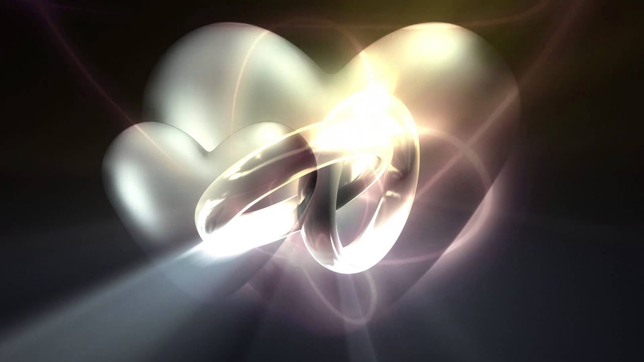 Motion Wedding Frame Video-Circles Hypnotic Animated Background