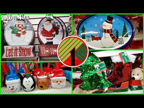 DOLLAR TREE CHRISTMAS IDEAS WALK-THROUGH * SHOP WITH ME 2019
