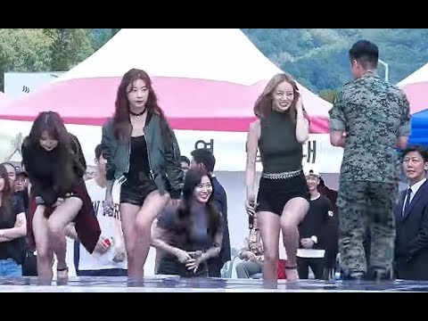 Yura performs in front of her ideal type Lee Seunggi 161003 - First time in forever!