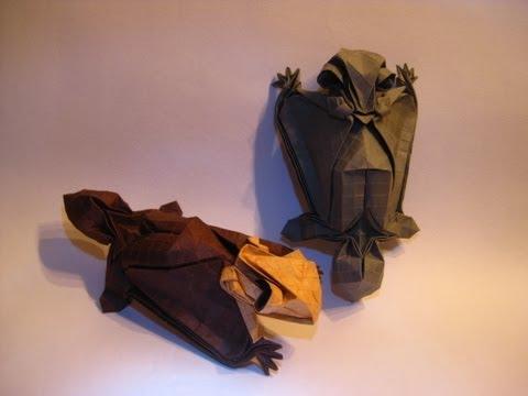 Origami Flying Squirrel Tutorial Tim Rickman