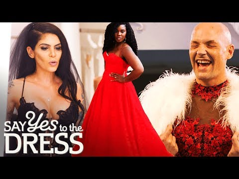 Best of Colourful Wedding Dresses! | Say Yes To The Dress