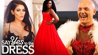 Best of Colourful Wedding Dresses! | Say Yes To The Dress thumbnail