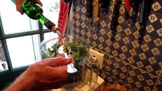 Making Pesto Robin Ellis