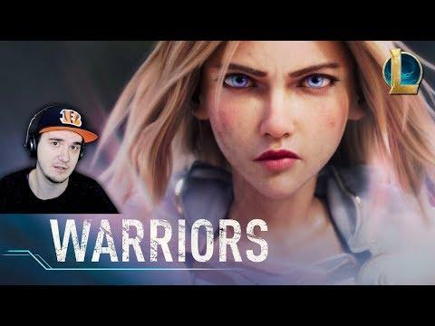 Warriors ► Season 2020 Cinematic - League of Legends \ ВОИНЫ - ЛИГА ЛЕГЕНД | Реакция