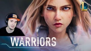 Warriors ► Season 2020 Cinematic - League of Legends \ ВОИНЫ - ЛИГА ЛЕГЕНД   Реакция