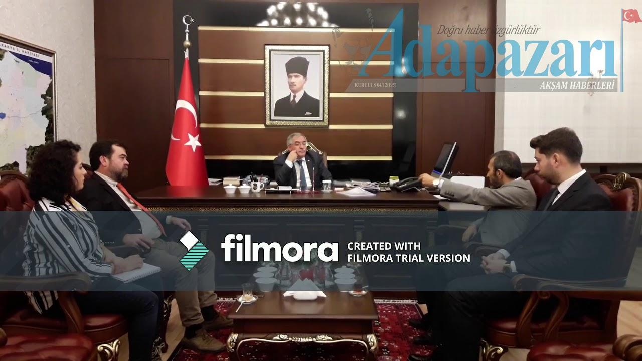 Sakarya Valisi Ahmet Hamdi Nayir ziyareti