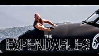 The Expendables Plane Scene - Sylvester Stallone, Jason Statham