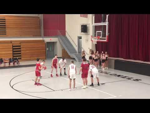 Ethan Gregory's Whitley County Middle School 8th Grade Basketball Highlights 2019/2020