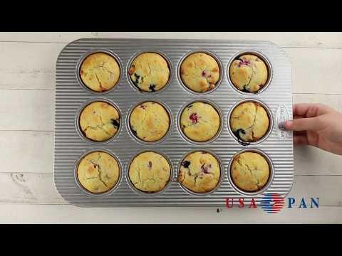 USA Pan 12 Cup Muffin Pan