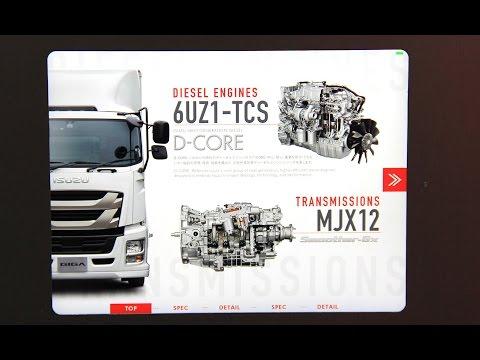 ISUZU DIESEL ENGINE 6UZ1 TCS & TRANSMISSIONS MJX12