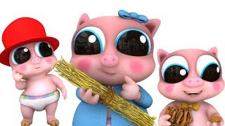 3 Little Pigs | Learn to Obey | Obey Mom