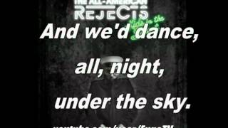 The All American Rejects- Kids in the Street (with Lyrics)