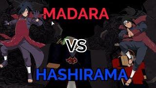 MADARA VS HASHIRAMA! | Naruto Tycoon | ROBLOX