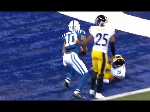 Scott Tolzien Connects With Donte Moncrief For 5 Yard Touchdown || Week 12 Colts vs Steelers
