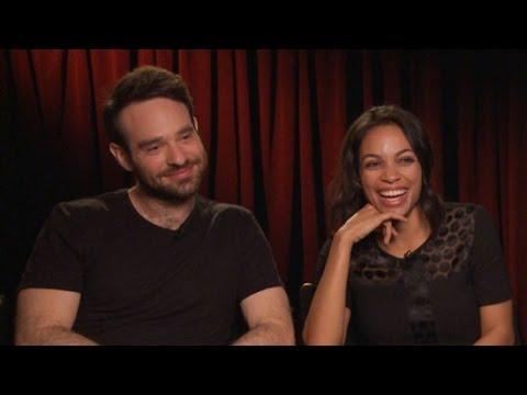 Daredevil's Rosario Dawson and Charlie Cox Play