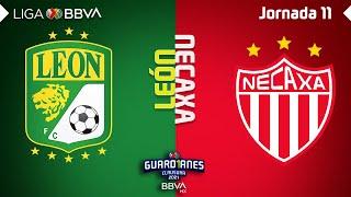 Resumen y Goles | León vs Necaxa |Liga BBVA MX - Guard1anes 2021 - Jornada 11