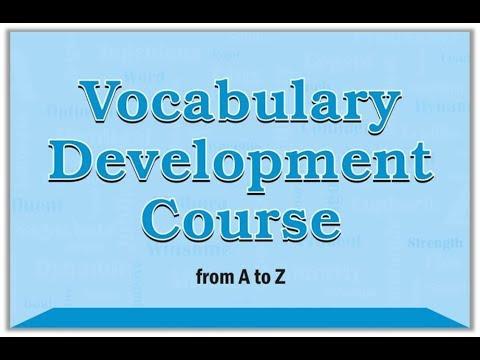 Vocabulary Development - Session #37 - full session free :)