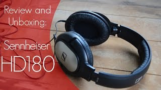 sennheiser HD180 Review and Unboxing: Affordable Audio