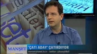 Tvnet-Manset-Ali Değermenci-Prof. Dr. Bekir Berat Özipek-30.06.2014