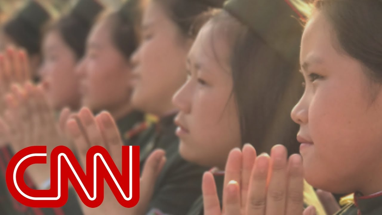 North Koreans applaud latest missile launch