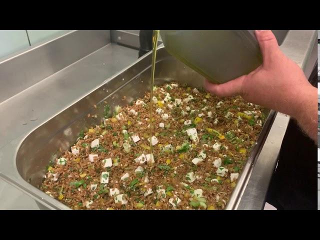 La salade de petit épeautre