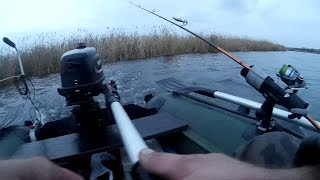 Рыбалка Испытание Дополнительных Аксессуаров Лодки ПВХ На Воде KarakayS Chanal(, 2015-11-18T19:29:17.000Z)