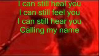 Puddle of Mudd-Thinking About You with lyrics