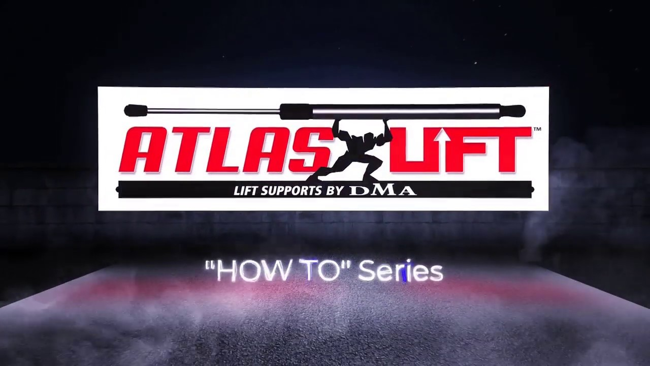 How To Replace Universal Lift Supports On A Truck Bed Cover L Atlas Lift Supports Youtube