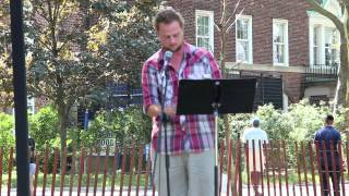 Ben Wiessner at NYC Poetry Festival