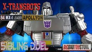 x transbots apollyon aka megatron bbts unboxing video